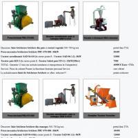 Linie brichetare brichete din paie si resturi vegetale 500-700 kg/ora oferta Utilaje agricole