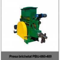 Masina mecanica brichetat brichete din paie si rumegus PBU-060-400 oferta Utilaje agricole