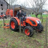 Tractor NOU, 4x4, 45CP cadru sau cabina Lux, Kioti, Korea oferta Utilaje agricole