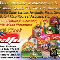 Tipografie etichete Flexo- Offset ELTO oferta Ambalaje