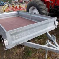 Remorca mica monoax cu instalatie electrica. oferta Utilaje agricole