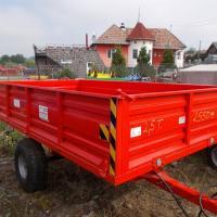 Remorca mica 2.5t monoax oferta Utilaje agricole