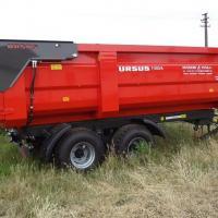 remorca 10 tone, 2 axe tandem oferta Utilaje agricole