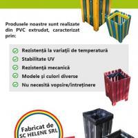 Cosuri stradale pentru gunoi Poza