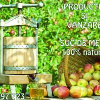 Productie si vanzare suc de mere 100% natural oferta Fructe