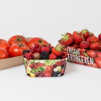 Tavite carton pentru legume si fructe Poza