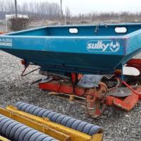 Distribuitor de ingraseminte Sulky 2000 litri X24 M Poza