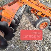 Disc agricol greu ,3,5 metri RAZOL 32 talere Poza